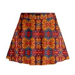 Planet Spice Mini Flare Skirt