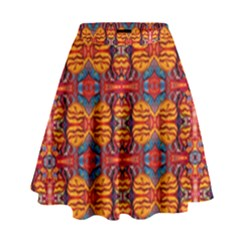 Planet Spice High Waist Skirt