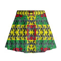Flash Card Mini Flare Skirt