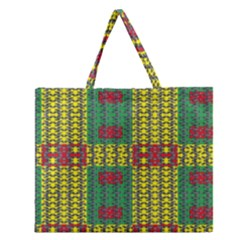 Oregon Delight Zipper Large Tote Bag