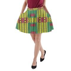 OREGON DELIGHT A-Line Pocket Skirt