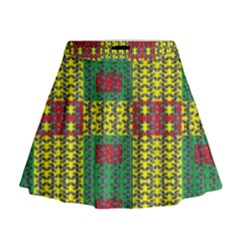 Oregon Delight Mini Flare Skirt