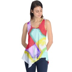 Watercolors Shapes                                         Sleeveless Tunic
