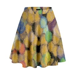 Paint brushes                                            High Waist Skirt