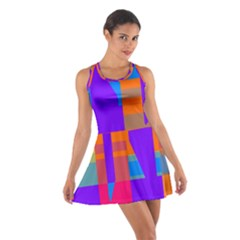 Misc Colorful Shapes                                           Cotton Racerback Dress