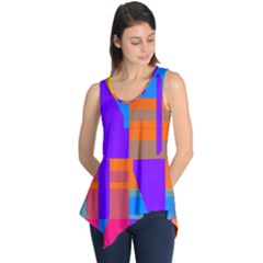 Misc Colorful Shapes                                           Sleeveless Tunic
