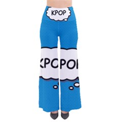 Comic Book Kpop Blue Pants