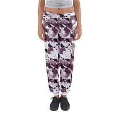 Ornate Modern Floral Women s Jogger Sweatpants