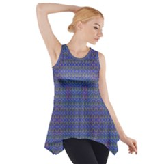 Cross Over Side Drop Tank Tunic