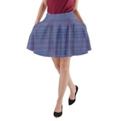 CROSS OVER A-Line Pocket Skirt