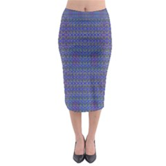 Cross Over Midi Pencil Skirt