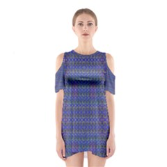 CELTIC CROSS Cutout Shoulder Dress