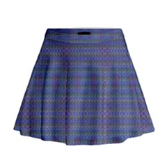 Celtic Cross Mini Flare Skirt