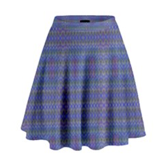 CELTIC CROSS High Waist Skirt