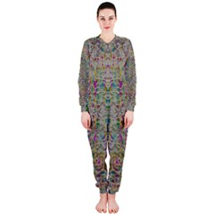 Colors For Peace And Lace In Rainbows In Decorative Style Onepiece Jumpsuit (ladies)