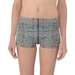 Colors For Peace And Lace In Rainbows In Decorative Style Boyleg Bikini Bottoms