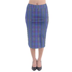 WIND MILL Midi Pencil Skirt