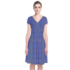 Wind Mill Wrap Dress