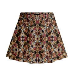 Boho Chic Mini Flare Skirt