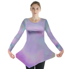 Pastel Clouds Long Sleeve Tunic