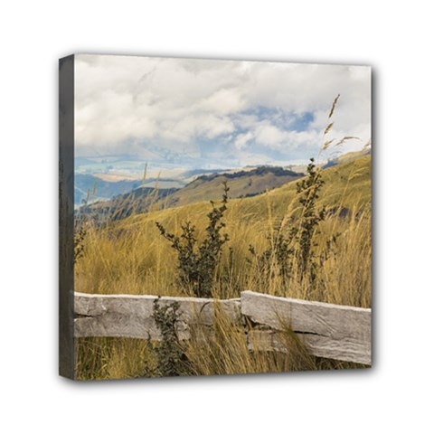 Trekking Road At Andes Range In Quito Ecuador  Mini Canvas 6  x 6