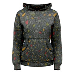 Abstract Reg Women s Pullover Hoodie