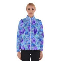 Blue And Purple Glowing Winterwear