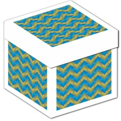 Blue And Yellow Storage Stool 12