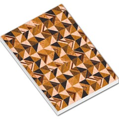 Brown Tiles Large Memo Pads