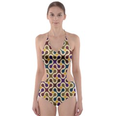 Funky Reg Cut-Out One Piece Swimsuit