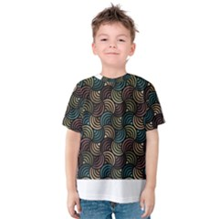 Glowing Abstract Kid s Cotton Tee