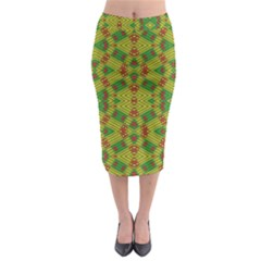 Flash Midi Pencil Skirt