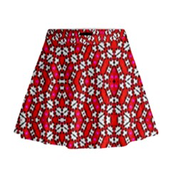 On Line Mini Flare Skirt