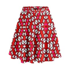 On Line High Waist Skirt