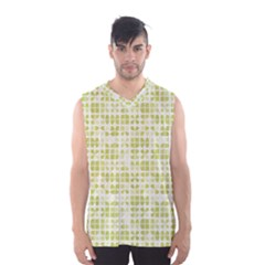 Pastel Green Men s Basketball Tank Top