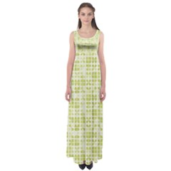 Pastel Green Empire Waist Maxi Dress