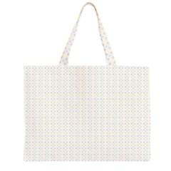 Pastel Pattern Large Tote Bag