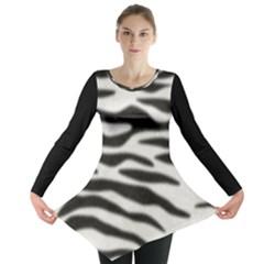 Zebra Long Sleeve Tunic