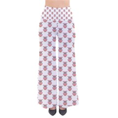 Small Pink Owls Pants