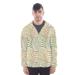 Pastel Sketch Hooded Wind Breaker (Men)