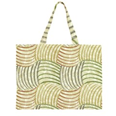 Pastel Sketch Large Tote Bag
