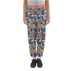 Pastel Tiles Women s Jogger Sweatpants