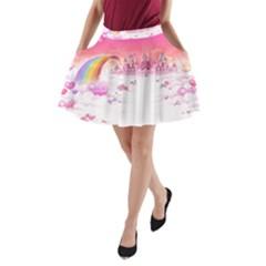 Kawaii A-Line Pocket Skirt
