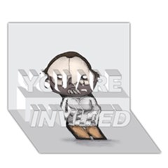 Dr. Lecter YOU ARE INVITED 3D Greeting Card (7x5)
