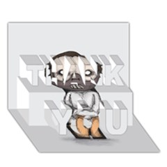 Dr. Lecter THANK YOU 3D Greeting Card (7x5)