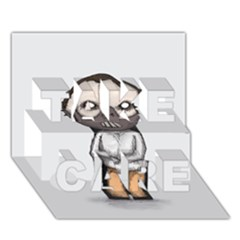 Dr. Lecter TAKE CARE 3D Greeting Card (7x5)