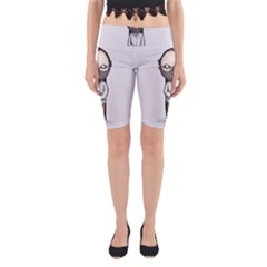 Dr. Lecter Yoga Cropped Leggings