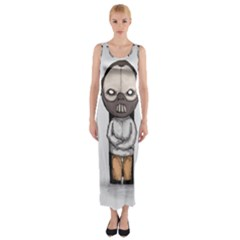 Dr. Lecter Fitted Maxi Dress