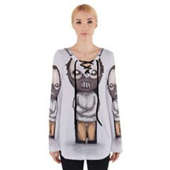 Dr  Lecter Women s Tie Up Tee