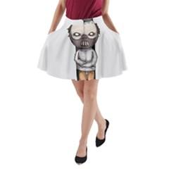 Dr. Lecter A-Line Pocket Skirt